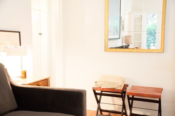 Contemporary Living Room photo by CLAYTON APGAR DESIGN LLC