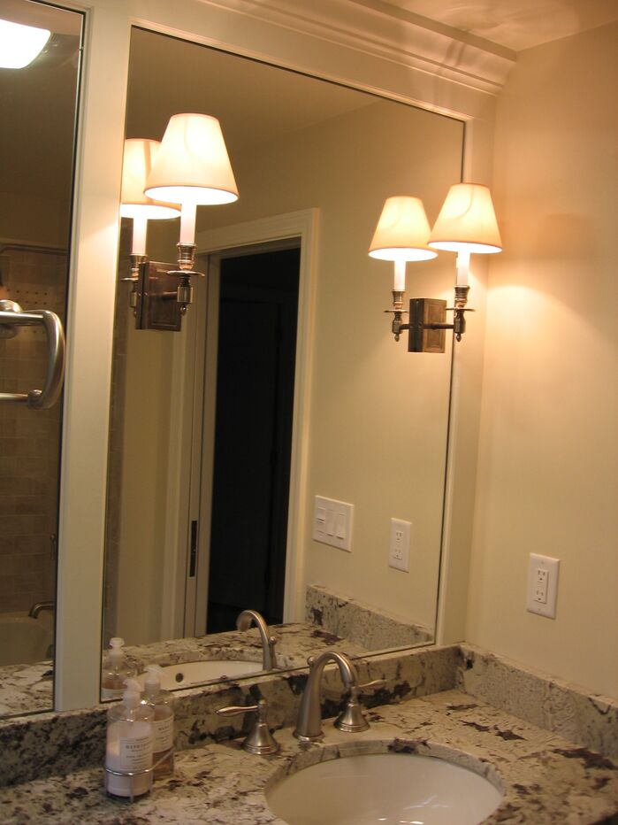 Contemporary Bathroom photo by LI Designs, LLC