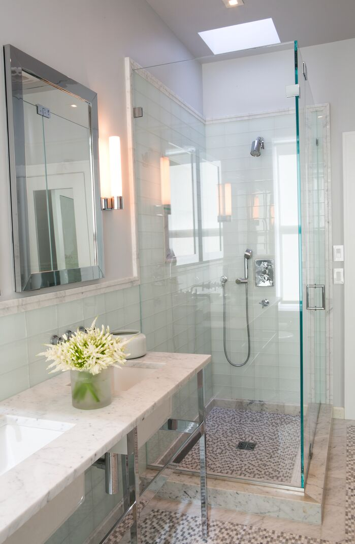Contemporary Bathroom photo by J. Patryce Design