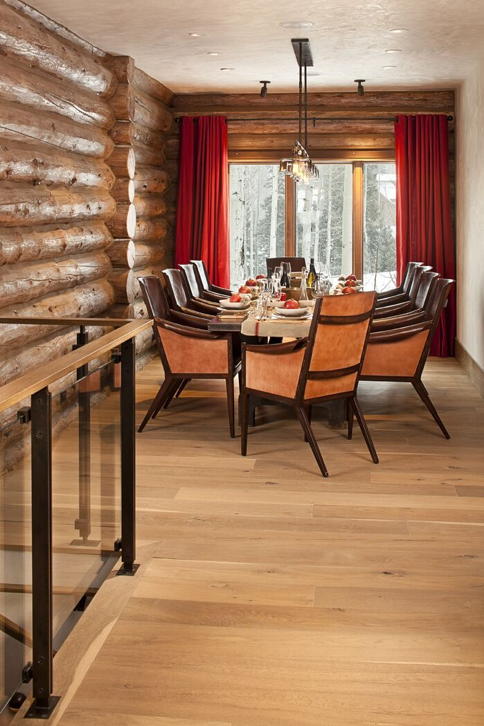 Rustic Dining Room photo by Studio Frank