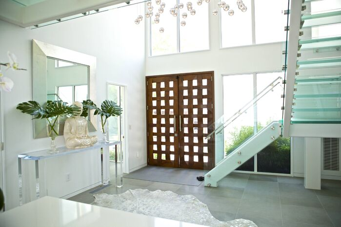 Modern Entryway and Hallway photo by Sam Allen Interiors