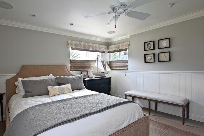 Coastal Bedroom photo by Beth Whitlinger Interior Design
