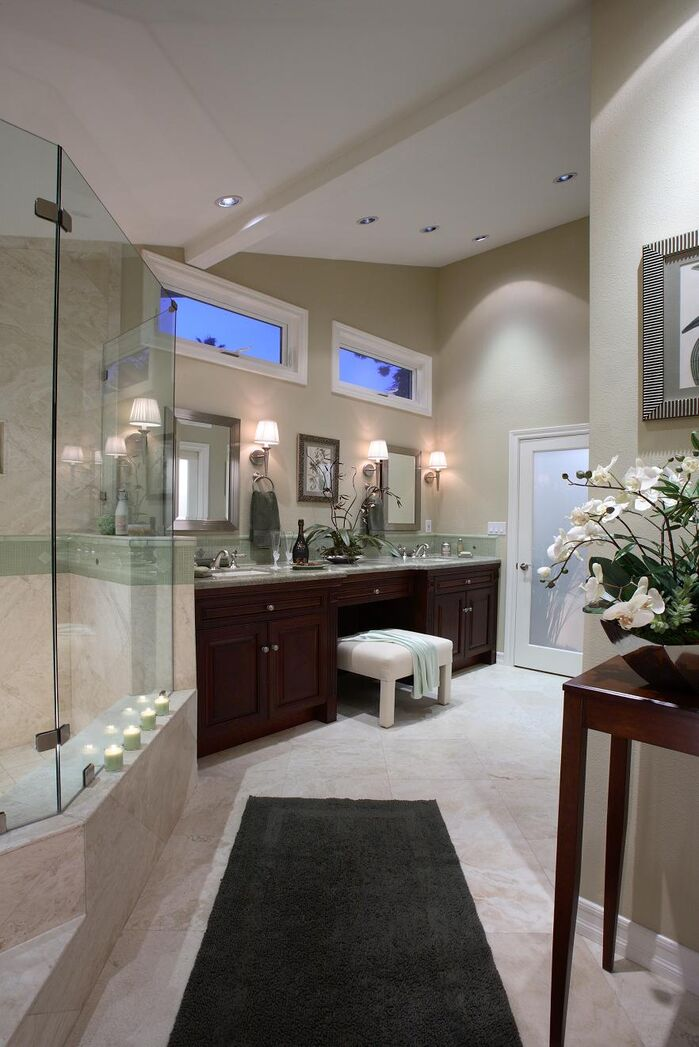 Contemporary Bathroom photo by Beth Whitlinger Interior Design