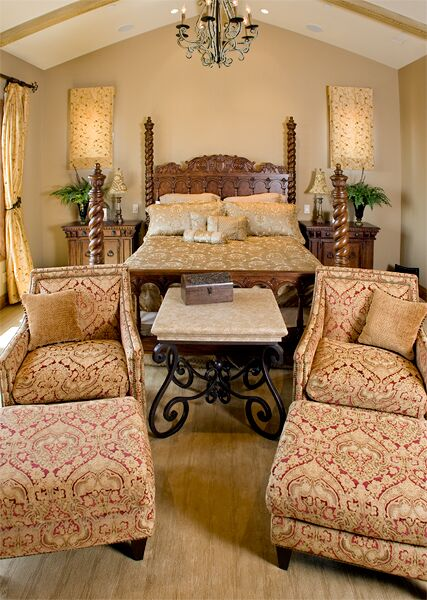 Traditional Bedroom photo by Beth Whitlinger Interior Design