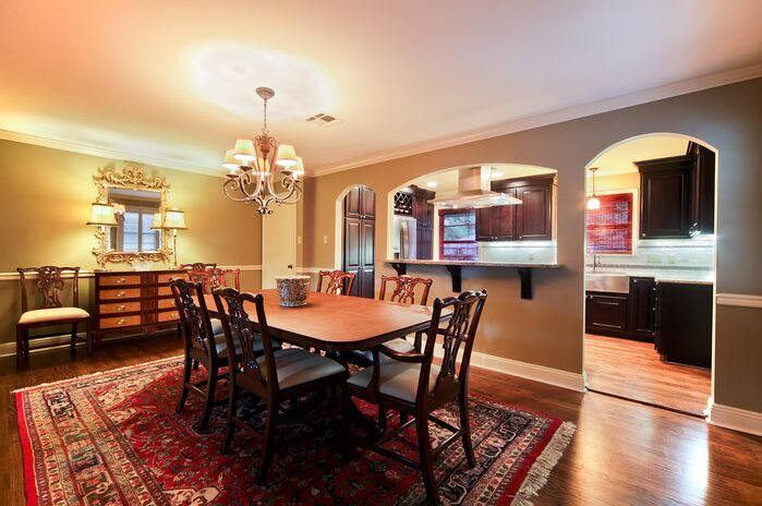 Traditional Dining Room photo by red river remodelers
