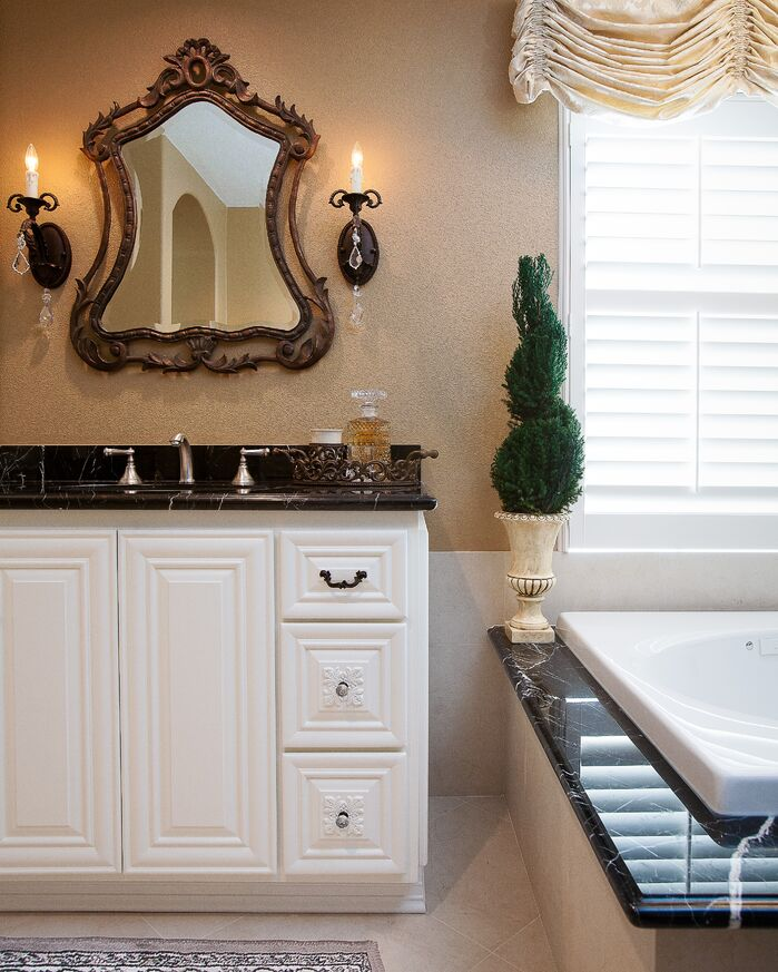 Traditional Bathroom photo by Lynch Design Group