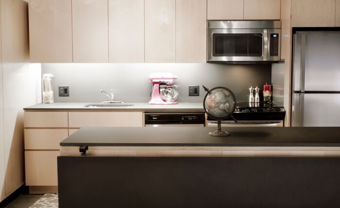Industrial Kitchen photo by Fitzsimmons Architects