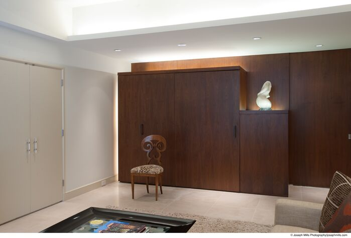 Modern Home Office photo by Fitzsimmons Architects