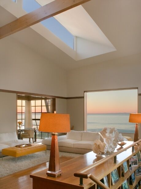 Coastal Living Room photo by Tracy Murdock Interior Design