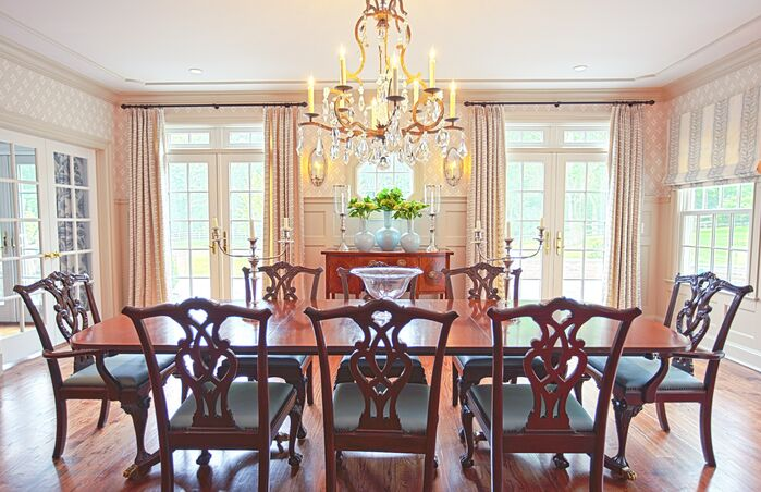 Traditional Dining Room photo by Accents Et Details