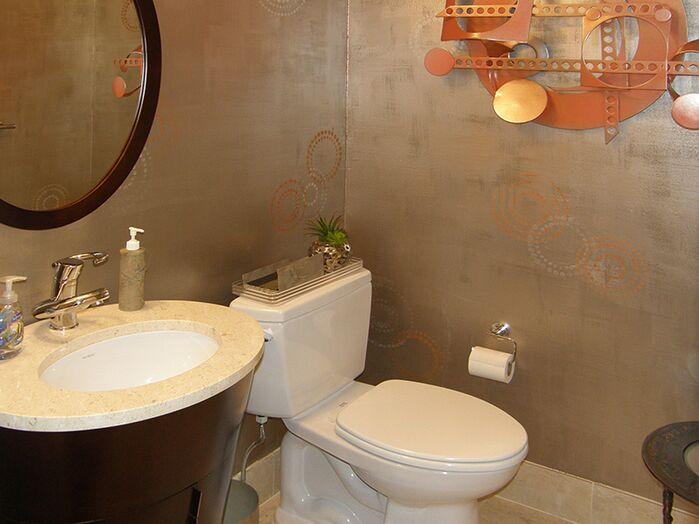 Eclectic Bathroom photo by Ken Golen Design