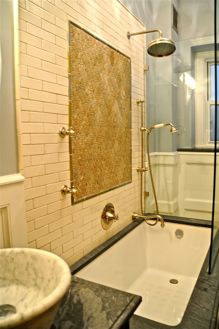 Traditional Bathroom photo by Beth Interiors