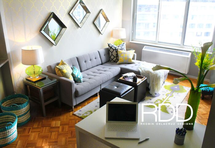 Contemporary Living Room photo by Rhobin DelaCruz Designs
