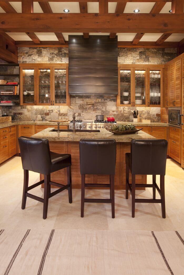 Rustic Kitchen photo by Studio Frank