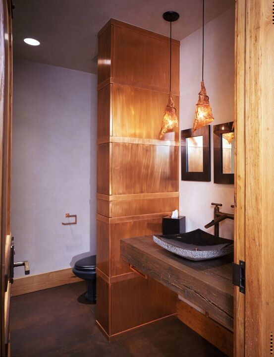 Rustic Bathroom photo by Studio Frank