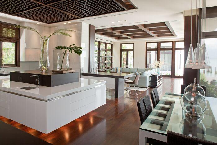 Contemporary Kitchen photo by B. Pila Design Studio