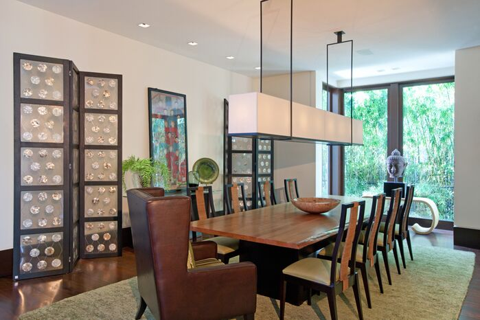 Contemporary Dining Room photo by B. Pila Design Studio