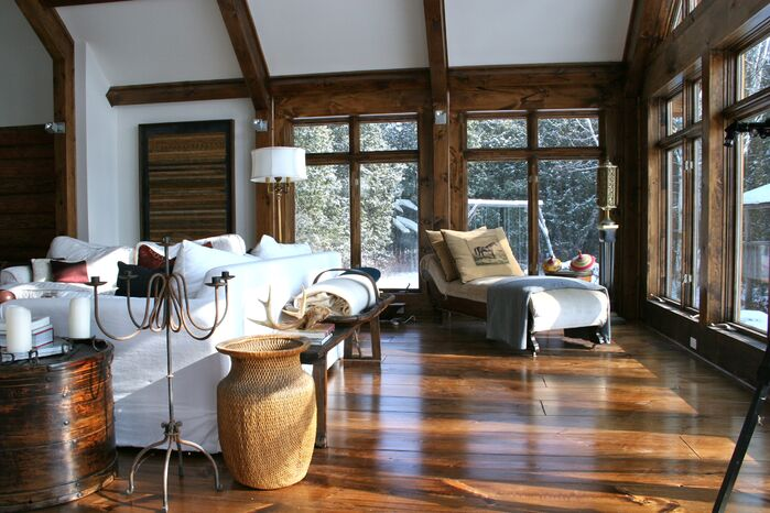 Rustic Living Room photo by catlin stothers design
