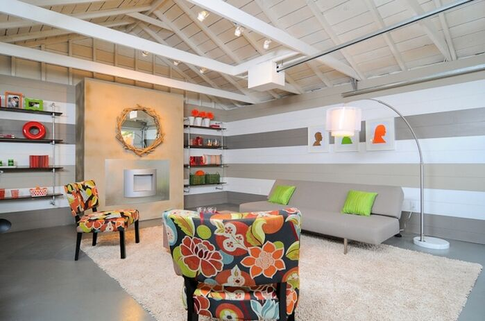 Eclectic Living Room photo by Kerrie Kelly Design Lab