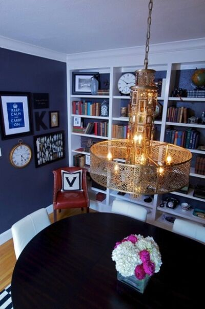 Vintage Dining room photo by Kerrie Kelly Design Lab