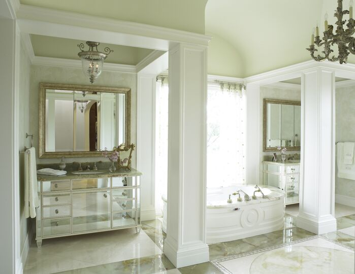 Traditional Bathroom photo by B. Pila Design Studio