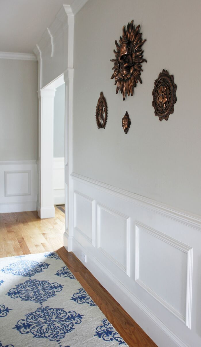 Traditional Entryway and Hallway photo by Victoria Elizabeth Design