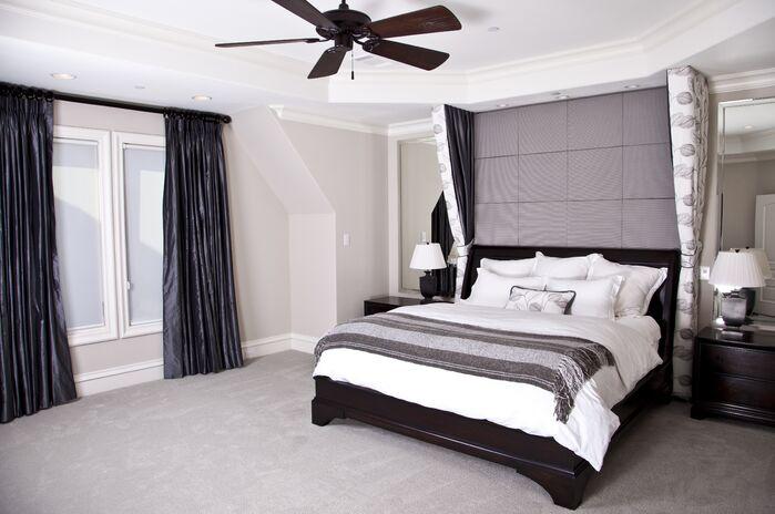 Contemporary Bedroom photo by Brandi Renee Designs, LLC