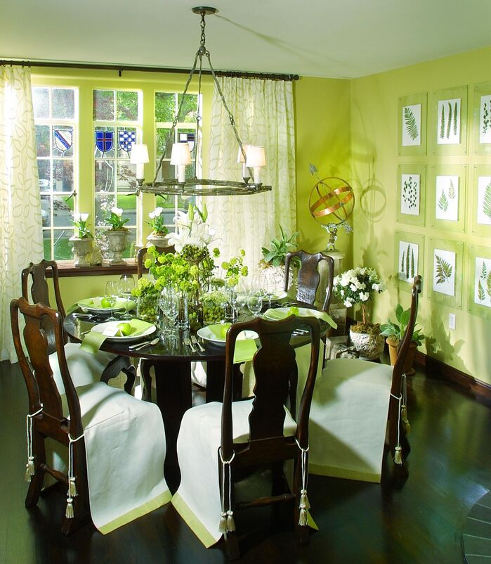 Cottage/Country Dining Room photo by Benning Design