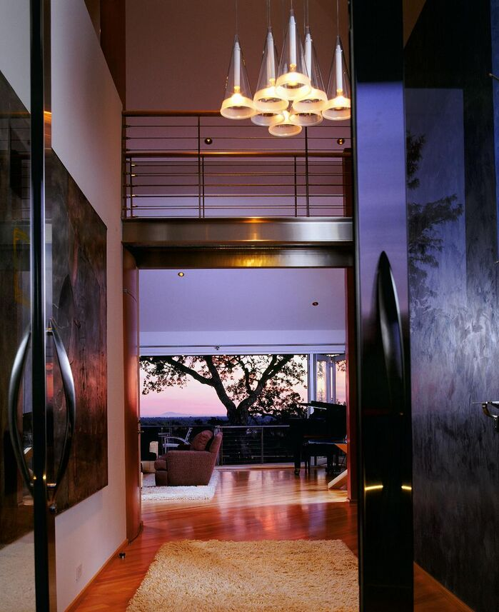 Modern Entryway and Hallway photo by Benning Design