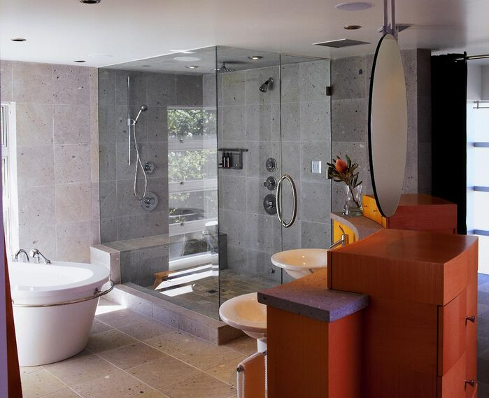 Contemporary Bathroom photo by Benning Design