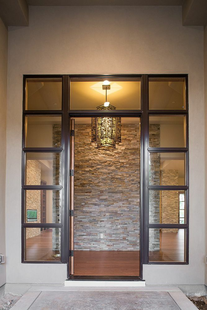 Contemporary Entryway and Hallway photo by Anne Sacco Interiors