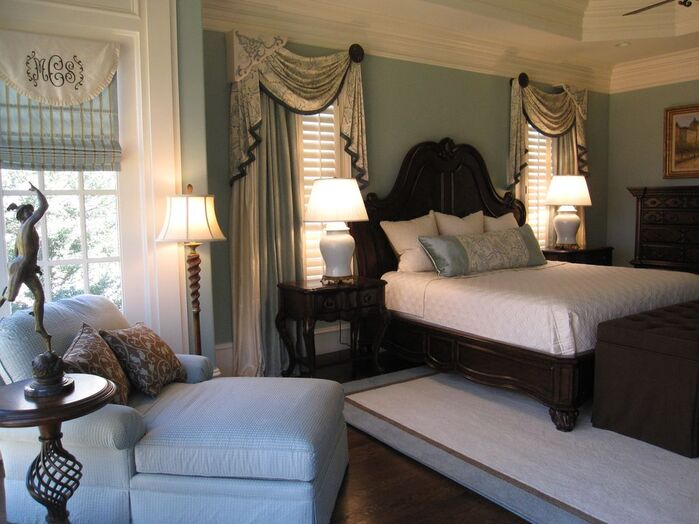 Traditional Bedroom photo by Kandrac & Kole Interior Designs