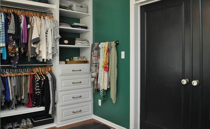 Eclectic Closet photo by Niki Landry Designs, LLC