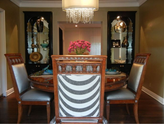 Eclectic Dining Room photo by Concept 2 Design Studio