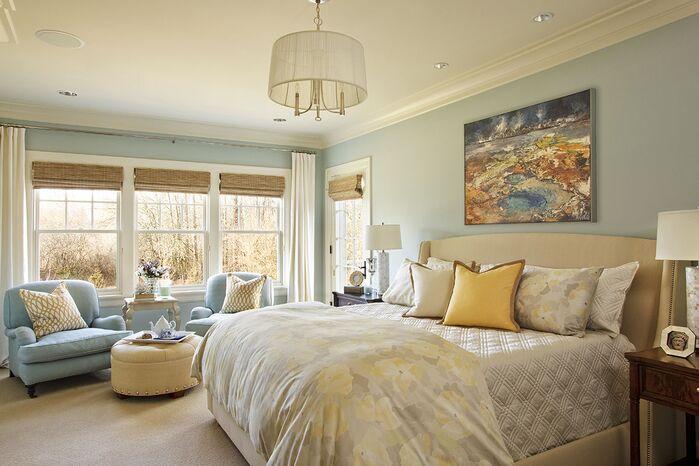 Traditional Bedroom photo by Garrison Hullinger Interior Design