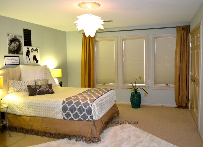 Glam Bedroom photo by Your Design Partner