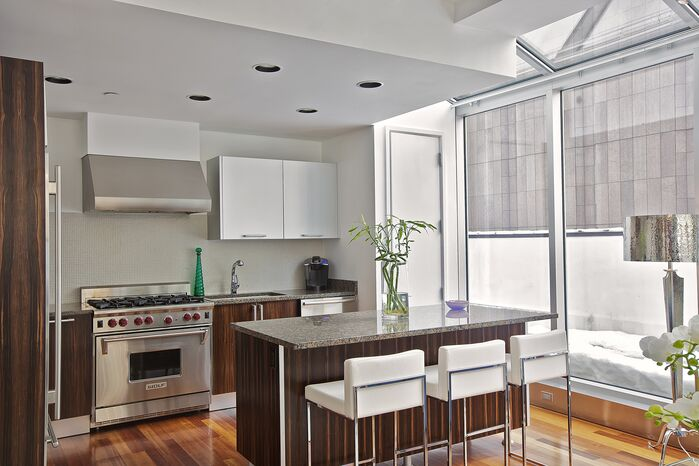 Modern Kitchen photo by Marie Burgos Design