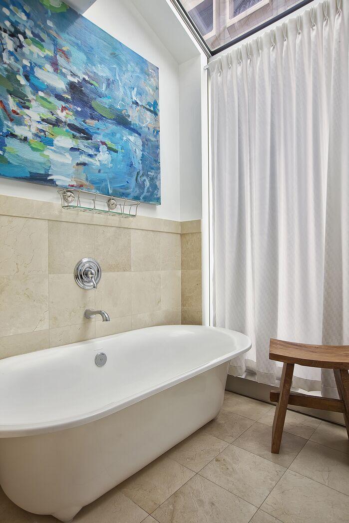 Modern Bathroom photo by Marie Burgos Design