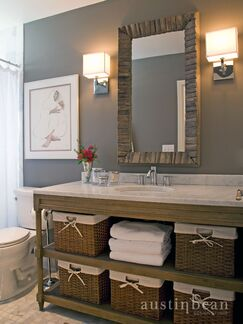 Contemporary Bathroom photo by Austin Bean Design Studio