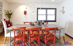 Eclectic Dining room photo by HGTV