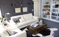 Contemporary Living room photo by HGTV