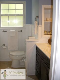 Modern Bathroom photo by PC Design Inc