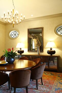 Traditional Dining room photo by Chancey Design Partnership