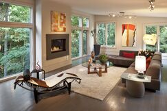 Contemporary Living room photo by Ware Design Build