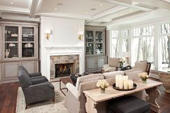 Traditional Living room photo by Hendel Homes
