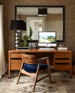 Scandinavian Home office photo by Urrutia Design