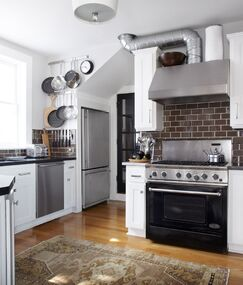 Industrial Kitchen photo by Urrutia Design