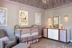 Lavender and Gray Girls Nursery