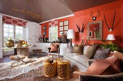 Eclectic Living room photo by Accents Et Details