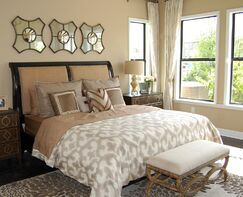 Contemporary Bedroom photo by Masterpiece Interiors, Inc.